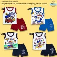 Setelan Baju Singlet Anak Bayi (Set Singlet Celana) - Katalog A