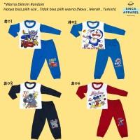 Setelan Baju Piyama Anak Bayi Baju Tidur Lengan Panjang Warna- Katalog
