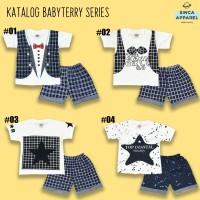 Setelan Baju Anak Bayi Lengan Pendek Baby Terry - Katalog A
