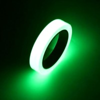 YIKAA Lakban Glow In The Dark Luminous Adhesive Tape 1.5 cm x 10 m