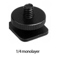 Tripod Screw Hot Shoe Kamera DSLR 1/4 Thread - HS14