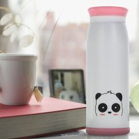 Colourful Cute Cartoon Thermos Insulated Mik Water Bottle 500ml