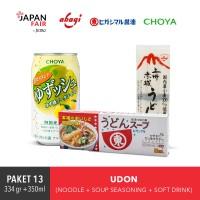 Paket Udon Jepang Mie & Penyedap rasa
