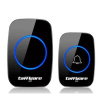 Taffware CACAZI A10 Bel Wireless Remote Doorbell LED 38 Tunes 1 PCS