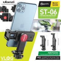 ULANZI ST-06 Holder U 360 Smartphone Tripod Mount HP with Cold Shoe