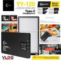 LED Yi Ying YY120 Power Bank Lampu Studio Video Light HP SLR 3200-5600