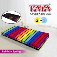 FATA SARUNG KASUR BUSA RAINBOW SPRING 120X200