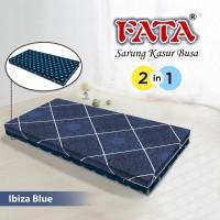 FATA SARUNG KASUR BUSA IBIZA BLUE 120X200