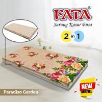 FATA SARUNG KASUR BUSA BUNGA PARADISO GARDEN 120X200