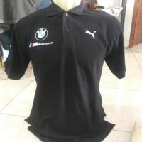 Polo Shirt Kaos Berkerah Baju Polo Shirt Puma Bmw Sport V-power