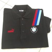Polo Shirt Kaos Berkerah Baju Polo Shirt Puma Bmw Sport