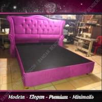 Divan Arcadia Diamond Premium- Minimalis - Modern - Elegan   Magenta