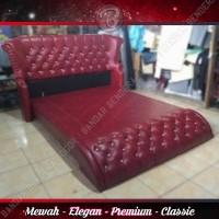 Divan SIENNA Bernuansa Premium - Modern - Elegan   Merah