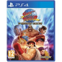 PS4 Street Fighter 30th Anniversary Collection Reg 2 English