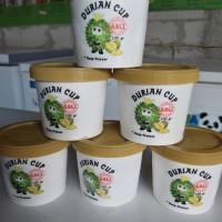 durian cup 100 gram duren