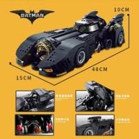 Batmam Batmobile 1989 Tim Burton Movie DC Comics Big 1:18 3D Metal Model SD TOYS