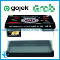 Aquarium Aquascape Akuarium Kaca Bending Glass Tank RECENT AQ 102