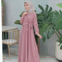 RIHANA MAXI AG - dress wanita - casual dress - gamis termurah - busui