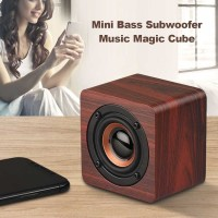 Wooden Bluetooth Speaker Stereo Subwoofer