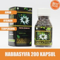 Kapsul Habbasyifa - 200 Kapsul - Kapsul Habbatussauda Oil