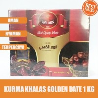 Kurma Khalas Golden Date - Kurma Khalas Premium - 1 KG