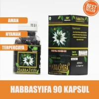 Kapsul Habbatussauda - Habbasyifa 90 Kapsul - Habbatussauda Oil