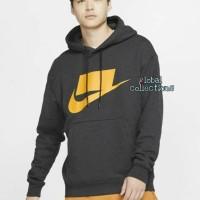 Hoodie Zipper Nike French Terry Sportwear Baju Hangat Poloshirt Tshirt