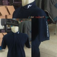 Kaos Berkerah Baju Polo Shirt J. Lindeberg Bahan Katun