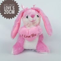 Boneka kelinci telinga panjang ukuran S