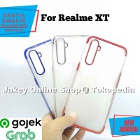 Case Realme XT softcase casing hp back cover ultra thin TPU PLATING