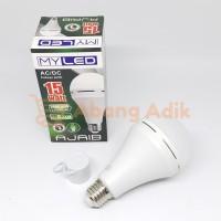 MyLED Ajaib 15w Lampu LED Bulb Bohlam Emergency Cas Darurat 15 watt w