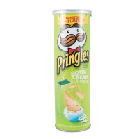 PRINGLES SOUR CREAM & ONION 107GR