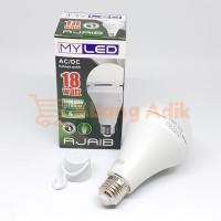 MyLED Ajaib 18w Lampu LED Bulb Bohlam Emergency Cas Darurat 18 watt w
