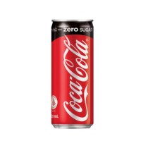 COCA COLA ZERO SUGAR CAN 330ML