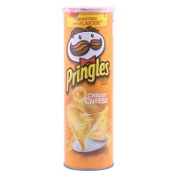 PRINGLES CHEESY CHEESE 107GR