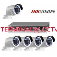 PAKET PESANAN CCTV HIKVISION 4 CH FULL HD