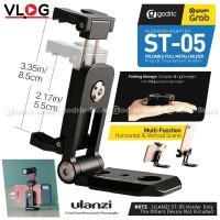 ULANZI ST-05 Metal 360 Smartphone Holder HP Stand Mount Cold Shoe Vlog