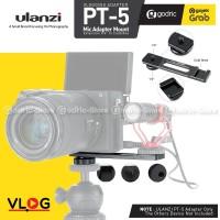 ULANZI PT-5 Vlog Microphone Hot Cold Shoe Mount Adapter Plate Bracket