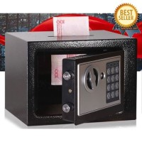 Brankas Mini Electric Password Deposit Box with Lubang Celengan 4.6L
