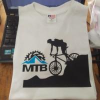 Kaos/Baju/Tshirt Keren MTB Bike Downhill Bahan Katun