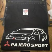 Kaos/Baju/Tshirt Keren Mitsubisi Pajero Sport Bahan Katun