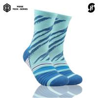 Kaos Kaki Olahraga Basket | Stayhoops Socks - Gerau Poise Blue