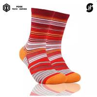 Kaos Kaki Olahraga Basket | Stayhoops Socks - Vin Rogue