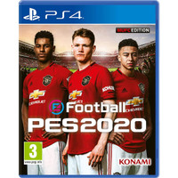 PES Pro Evolution Soccer 2020 Region 2 Edisi cover Club - PS4