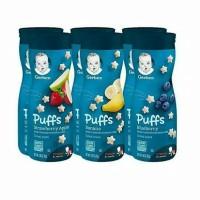 Gerber puffs snack bayi
