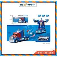mainan anak robot truck optimus prime