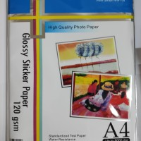 CORAL STICKER GLOSSY PHOTO PAPER 120GSM A4