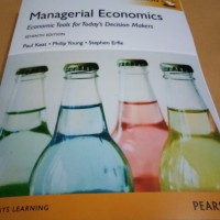 Managerial economics 7th seventh edition by Paul Keat young 7