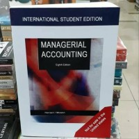 Managerial accounting 8th eighth edition by Hansen Mowen