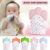 Sarung Tangan Gigitan Bayi Baby Mitten Glove Teether